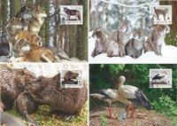 Liechtenstein - WWF Animals / Returnees Maxi - Maximumskort