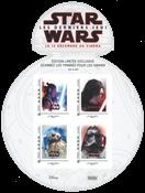 Frankrijk - Star Wars - Postfris velletje