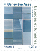 France - Space and light - Mint stamp