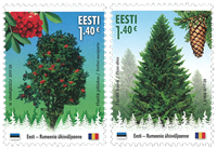 Estonia - Forest Species - Mint set 2v