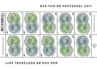 Holland - Frimærkets dag - Postfrisk småark