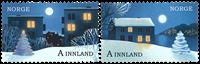 Norge - Julen 2017 - Postfrisk sæt 2v
