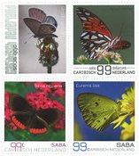 Saba - Sommerfugle - Postfrisk sæt 4v