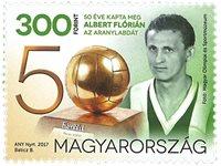 Ungarn - Albert Florian - Postfrisk frimærke