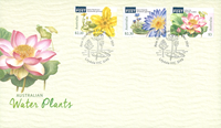 Australia - Water Plants - First Day Cover