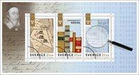Sverige - Rigsarkivet 400 år - Postfrisk miniark