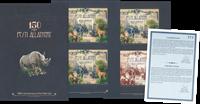 Ungarn - Zoologisk/botanisk have i Budapest - Postfrisk specialmappe med 4 miniark. Katalogværdiomkring 1800 kr