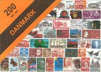 Danmark - 200 frimærker