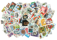 World Wide - 2000 different stamps