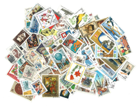 Eastern Europe - 500 different stamps
