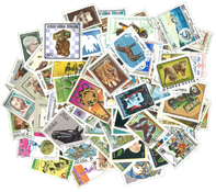 World Wide - 500 different commemorative stamps