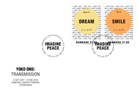 Danmark - Yoko Ono - Førstedagskuvert med sæt