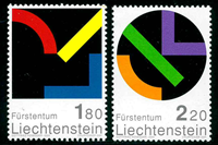 Liechtenstein - YT 1222/3