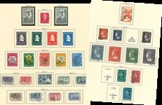 Pays-Bas - Collection dans un album Schaubek
