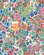 USA - Off paper kilowaar 200 gr. langlopende zegels