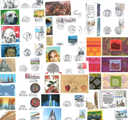 France - 42 recent first day covers