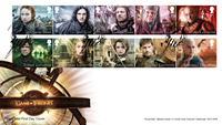 Great Britain - Game of Thrones - First Day Cover with set