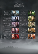 Great Britain - Game of Thrones sheet - Mint sheetlet