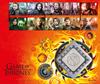 England - Game of Thrones - Møntbrev med serie og særmønt