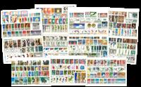 Polen - 400 frimærker i komplette sæt