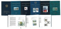 Allemagne de l'Ouest - Livres annuels 1995-2000