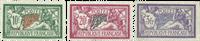 France 1925 - YT 206-208 - Neuf avec charnière