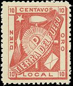 ARGENTINA/1891 Tierra Del Fuego - Michel 1 mint