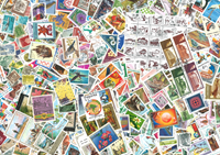 Worldwide 1000 different stamps