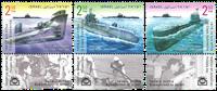 Israel - Undervandsbåde - Postfrisk sæt 3v
