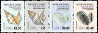 Papua Ny Guinea - Værdifulde konkylier - Postfrisk sæt 4v