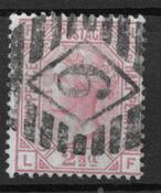 Englanti 1873 - AFA 40 - leimattu