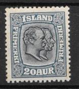 Islanti 1915 - AFA 82 - Postituore