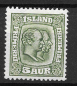 Iceland 1915 - AFA 79 - Unused
