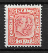 Islanti 1907 - AFA 53 - Postituore
