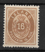 Iceland 1875 - AFA 9 - Unused