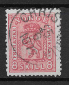 Norway 1867 - AFA 15 - Cancelled