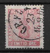 Sweden 1858 - AFA 12 - Cancelled