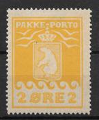 Grönlanti 1915 - AFA 5 - Käyttämätön liimakkeella