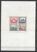 German Reich 1930 - AFA 443-446 - Mint