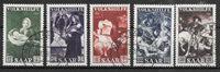 Saar 1951 - AFA 312-316 - Cancelled