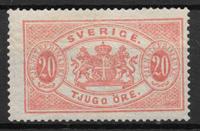Sweden 1881 - AFA Tj 7B - Unused