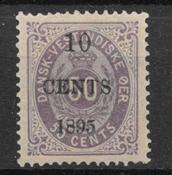 Danish West Indies 1895 - AFA 15 - Unused