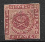Danish West Indies 1856 - AFA 1C - Unused