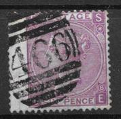 Englanti 1867 - AFA 30 - leimattu