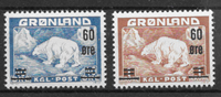 Grönlanti 1956 - AFA 37-38 - Postituore