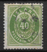 Iceland 1875 - AFA 11 - Cancelled
