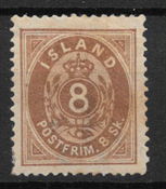 Iceland 1873 - AFA 3 - Unused