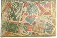 Norden - 200 forskellige frimærker