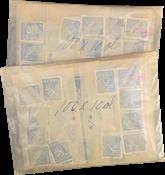 Finland - 20 poser med 100 frimærker i storformat