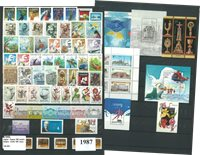 Unkari - Vuosilajitelma 1987 - postituore